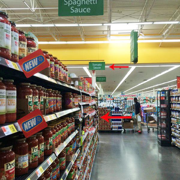 Tomato Sauce Store Photo