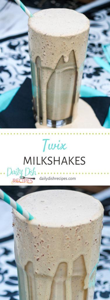 Twix Milkshakes
