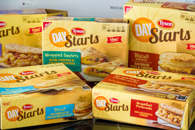 #ad Easy Healthy Breakfast Ideas with Tyson Day Starts #StartWithTyson #shop