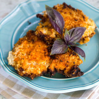 Spicy Breaded Chicken with Panko and Sriracha