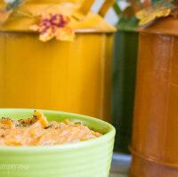 Roasted Garlic Cauliflower Pumpkin Soup