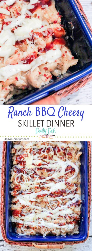 Simple Dinners Ranch BBQ Cheesy Skillet Dinner