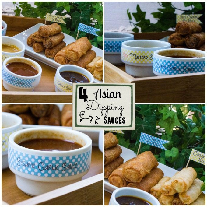 4 Restaurant-Inspired Asian Style Dipping Sauces For Your Next Event