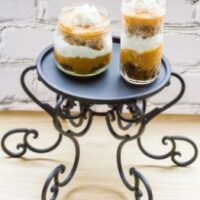 Spiced Pumpkin Gingerbread Trifles