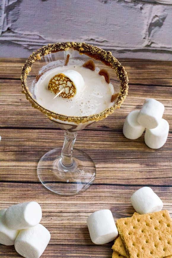 15 Summer Cocktails To Beat the Heat - S'mores Martini