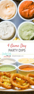 4 Game Day Dips for GameTime