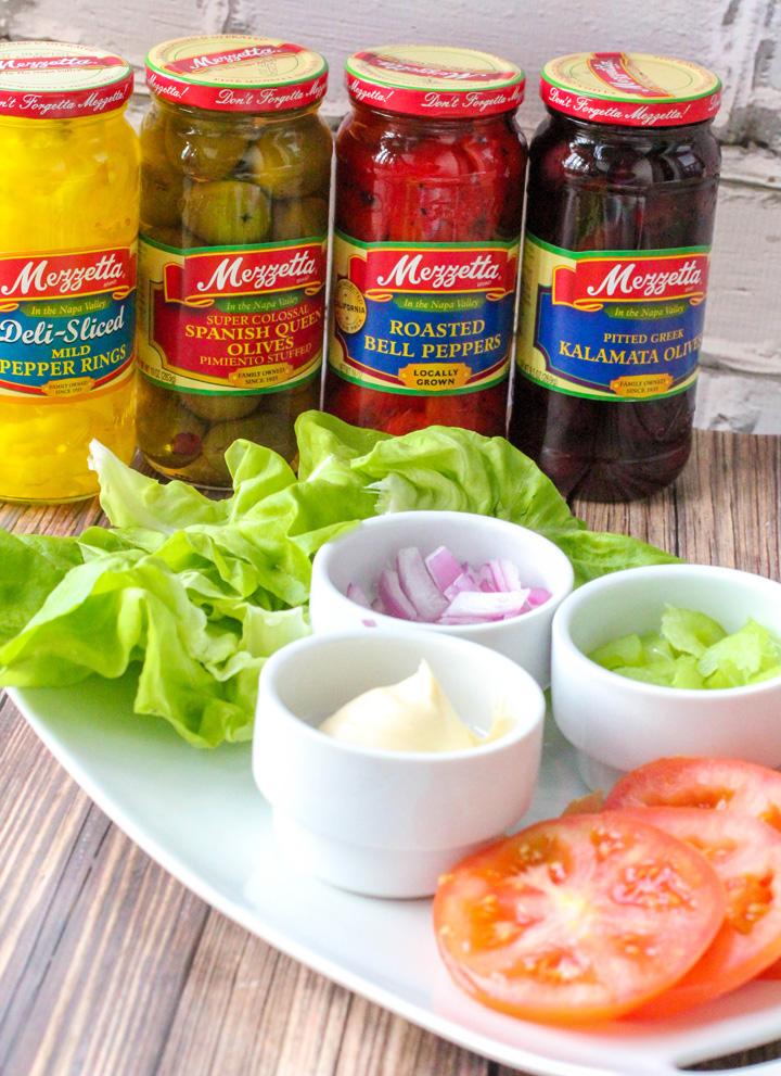 Mediterranean Turkey Salad