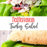 Mediterranean Turkey Salad