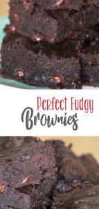 Perfect Fudgy Brownie Recipe