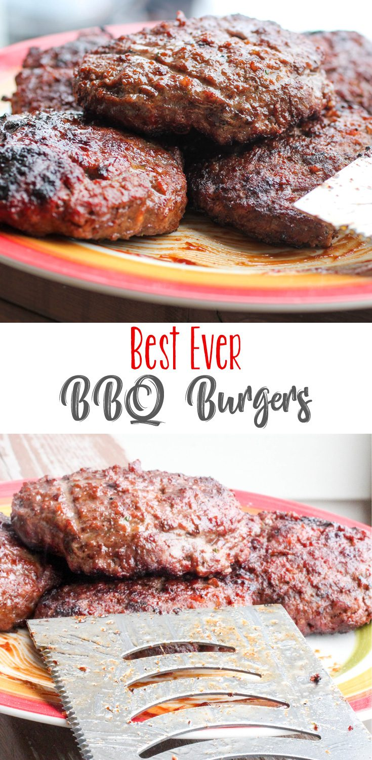 The Best BBQ Burgers Ever! Juicy, full flavor burgers that are seriously the bomb! We love these and there's plenty of room to change them up and make them your own!