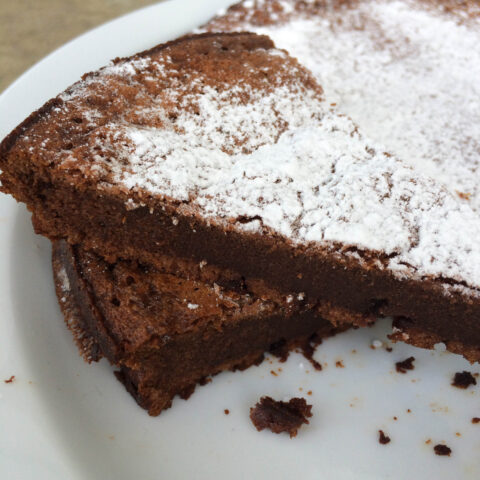Two-Ingredient Flourless Nutella Cake