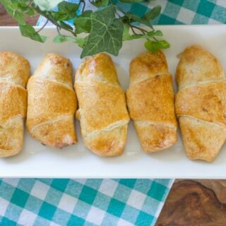 Creamy Chicken and Mushroom Stuffed Croissants