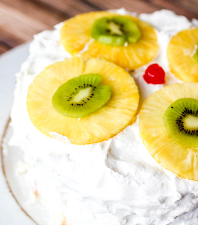 Tropical Layered Poke Cake