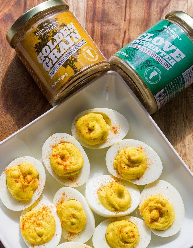 Clove Encounter Garlic & Oregano Deviled Eggs