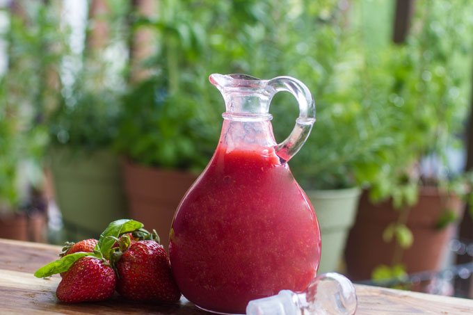 Homemade Strawberry Basil Syrup + 10 Ideas for Using It