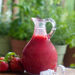 Strawberry Basil Syrup