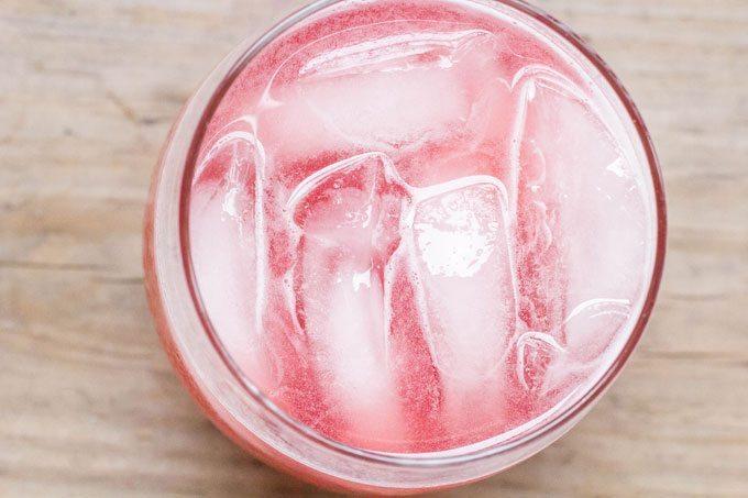 Rhubarb Elderberry Cocktail