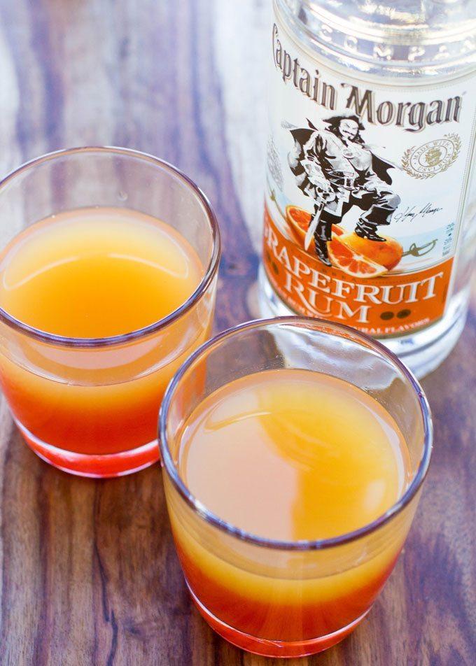 Captain Morgan Springtime Sunset #HappyHour