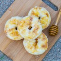Tropical Fruit and Honey Swirled Donuts