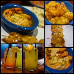 Red Lobster Collage