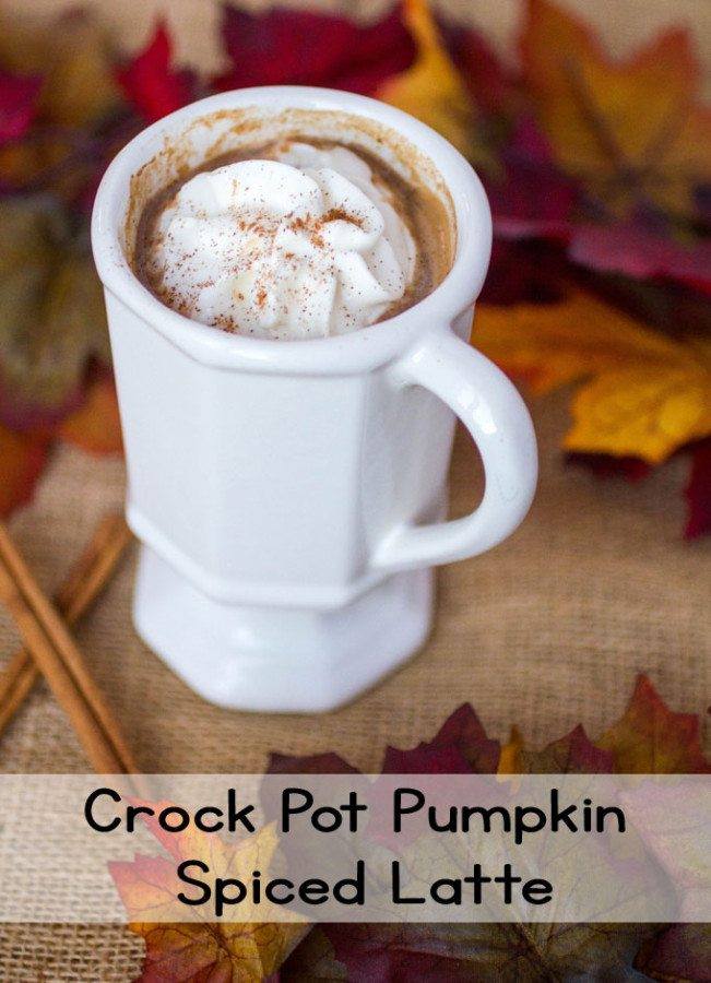 Crock Pot Pumpkin Spiced Latte