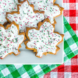 Frosted Ginger Spice Cookies 2