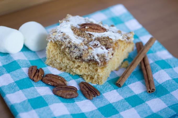 Sweet Potato Casserole Coffee Cake
