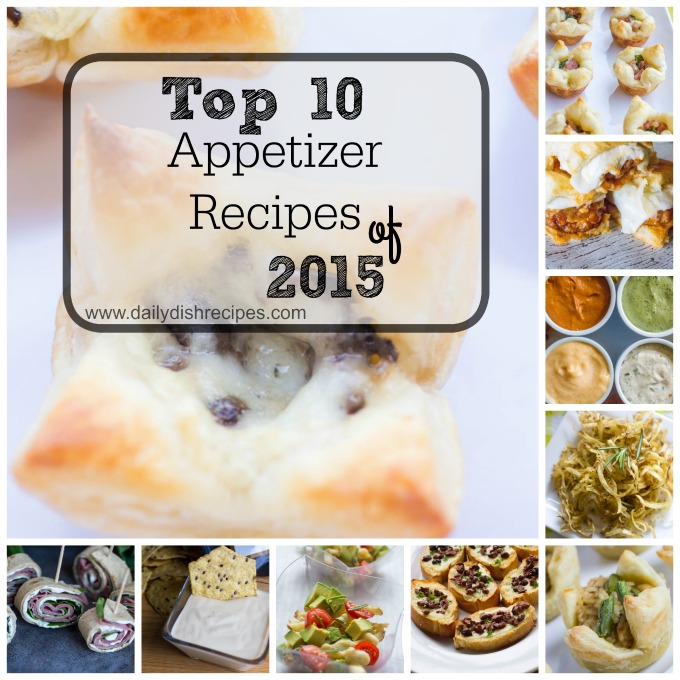 10 Best Appetizer Recipes of 2015