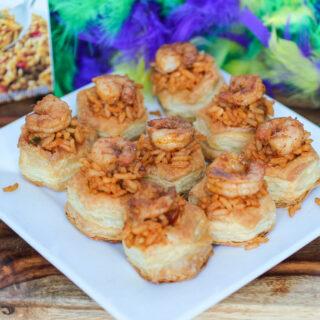 Jambalaya Cajun Shrimp Bites #SundaySupper