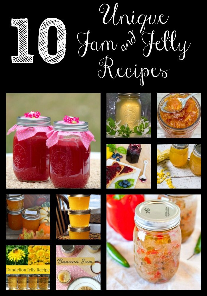 10 Unique Jam and Jelly Recipes