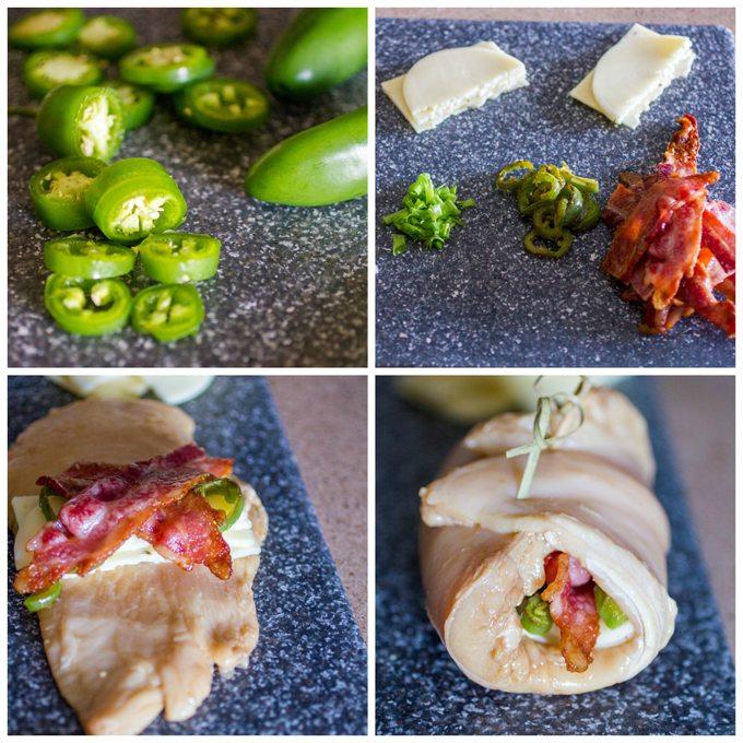 Cheesy Jalapeno Bacon Chicken Roll Ups Daily Dish Recipes
