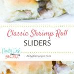 Classic Shrimp Roll Sliders