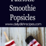 Patriotic Smoothie Popsicles