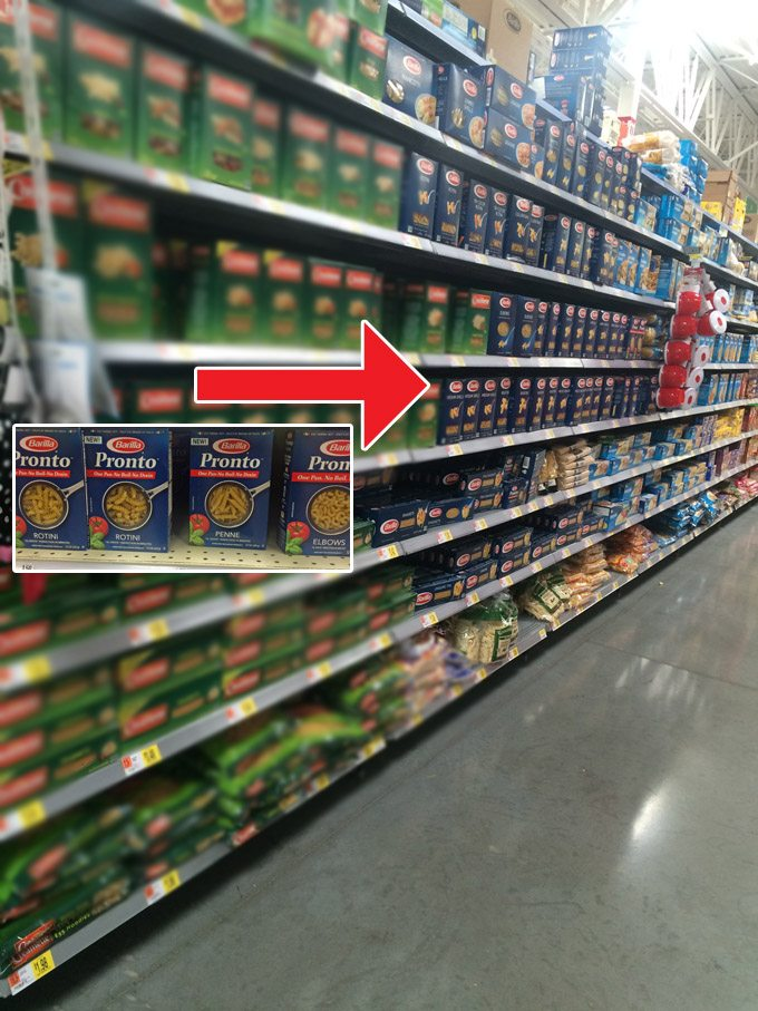 Barilla Pronto Pasta Walmart