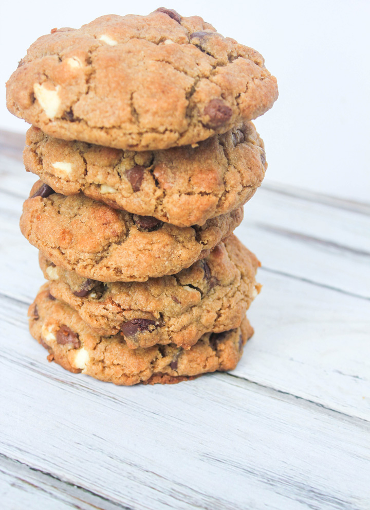 Best Big Fat Chewy Triple Chip Cookies