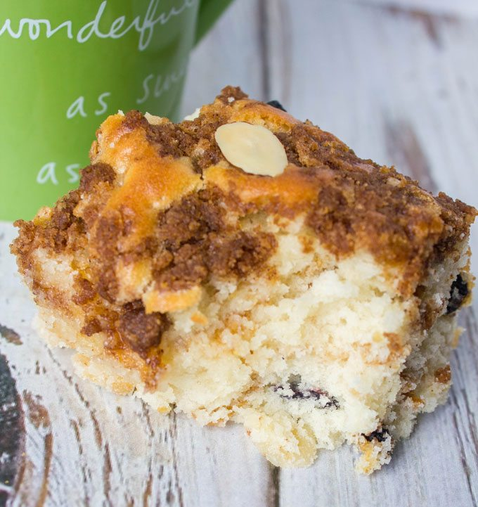 Blueberry Morning Coffee Cake