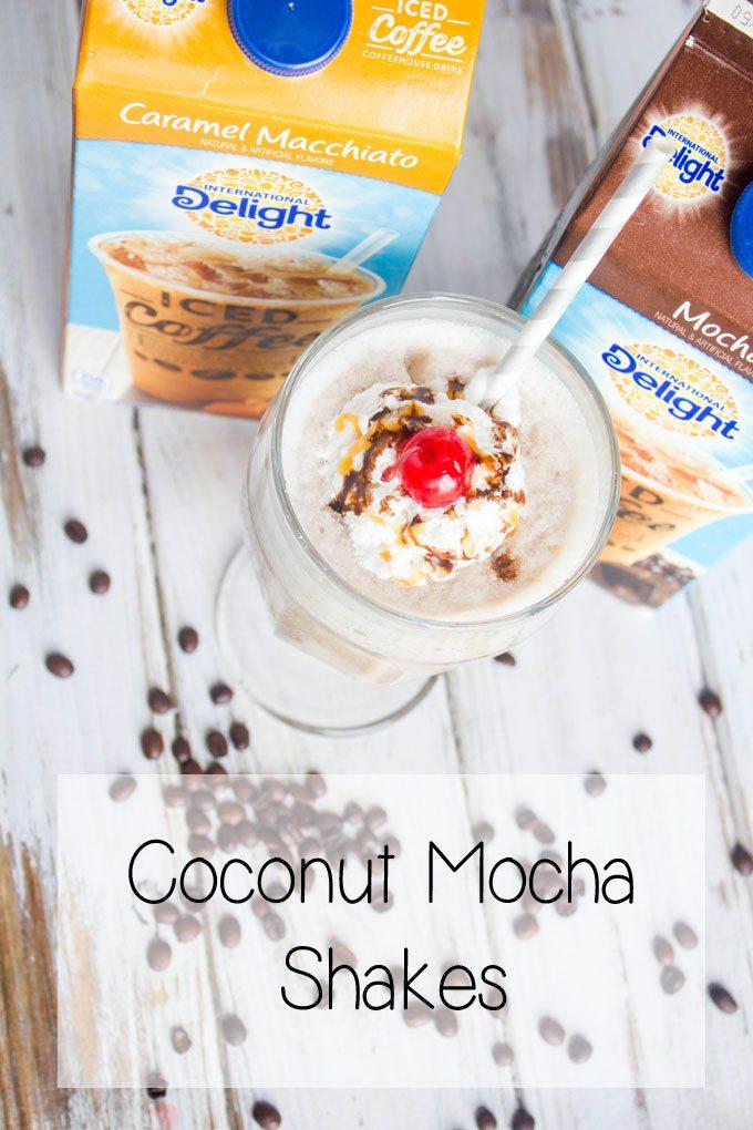 Coconut Mocha Shakes