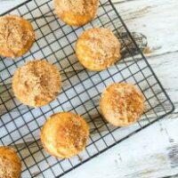 Pumpkin Pie Spice Coffee Cake Muffins