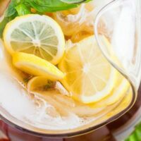Flavored Ice Tea Basic Recipe