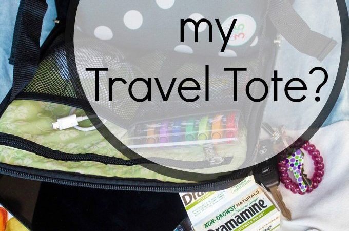 What's in my Travel Tote?
