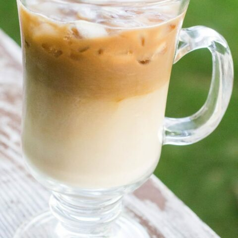 Dairy Free Vanilla Iced Coffee