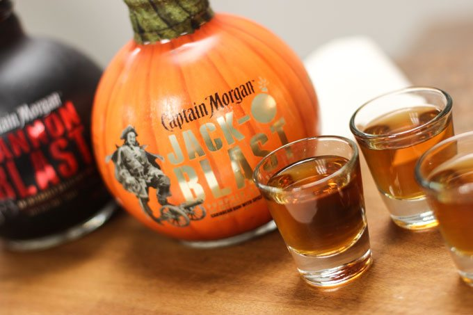Fall Drink: Blasted Pumpkin Shot