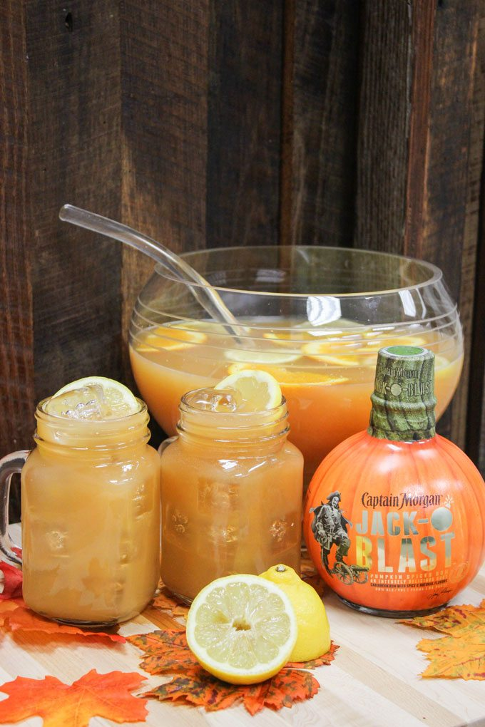 Captain's Cauldron Punch for Halloween Party