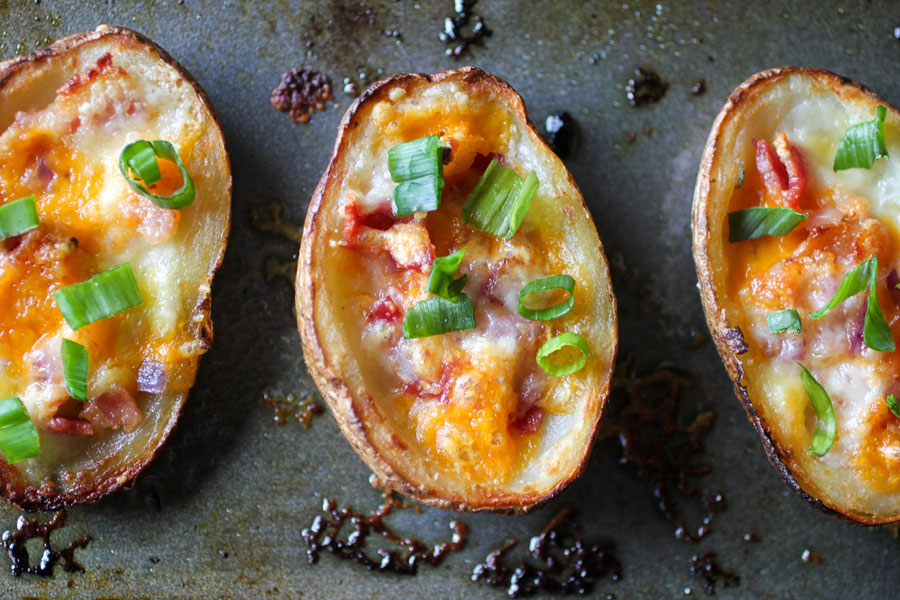 Easy Potato Skins Recipe