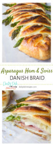 Asparagus Ham and Swiss Danish Braid Pinterest