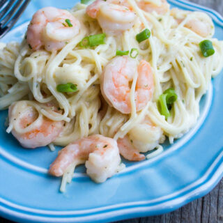 Easy Shrimp Scampi Pasta