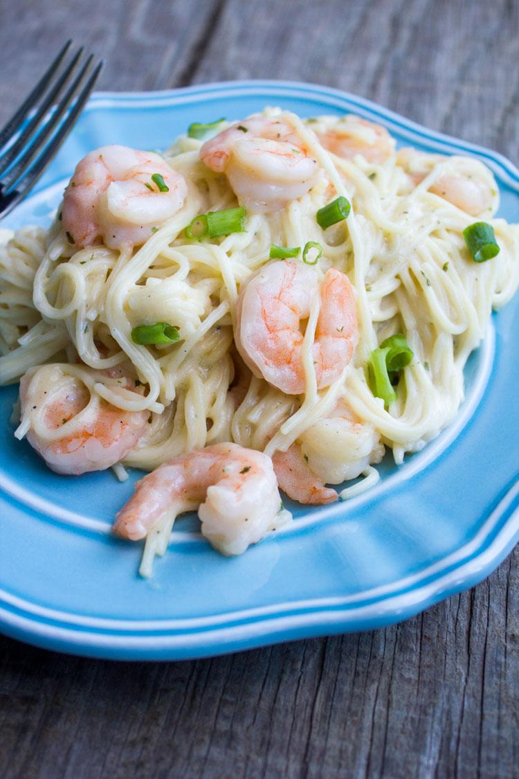 Easy Shrimp Scampi Pasta