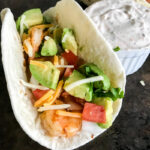 Baja Lime Grilled Shrimp Tacos