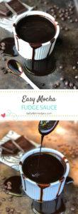 Easy Mocha Food Sauce