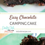 Easy Chocolate Camping Cake